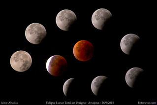 Eclipse Total de Luna llena