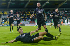 Shamrock Rovers 1 - 1 Dundalk (ExtratimePhotos) Tags: ireland dublin germany football soccer richie irl towell leinster republicofireland groupd avivastadium uefaeuro2016qualifying