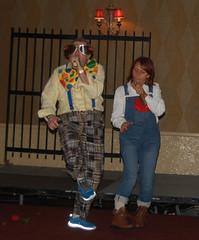 Pat Bourke & Carmel Donaghy AKA Elton John & Kiki Dee