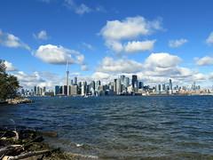 Toronto Skyline from Ward's Island (Sean_Marshall) Tags: toronto ontario skyline harbour lakeontario torontoislands wardsisland