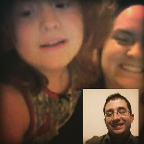#skyping from Cincy two years ago