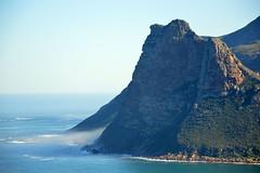 Nebbia a i piedi dei monti (lara_etta) Tags: africa travel blue sea green beach nature beautiful clouds landscape southafrica mare cloudy capetown nebbia paesaggio scogliere sudafrica cittdelcapo salsedine meraviglia