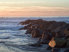 Jetty Rocks at Sunset. (isaacullah) Tags: