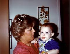 Aunt Dolly Kissell and Matthew Villifana - November 1981 (ataribravo1) Tags: nov november matthew son aunt 1981 debra dolly deby kissell villifana