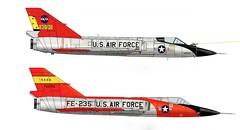F-106A Delta Dart (Ricos 2015) Tags: airplane military delta dart convair f106