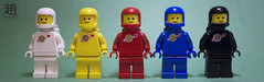 SpaceCover (mikechiu86) Tags: spacemen minifigures classicspace lego rainbow panorama