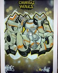 ATOA - MUSGO (MUSGOne) Tags: streetart graffiti sketch starwars geek urbanart bb8