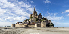 ( 360 interactiva ) Mont St.Michel_marsma. (Juan Ig. Llana) Tags: lemontsaintmichel francia normanda arquitectura abada medieval ismo marsma arena limo montesanmichel panormica esfrica 360 gigapan epicpro spherical panorama