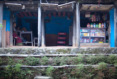 (Sitoo) Tags: bandipur nepal people street shop 50mm