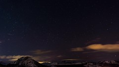 Cloudy Night Timelapse (Jekowski Photography) Tags: night starry astro astrophotography timelapse video cloud cloudy clouds stars falling blue mountains winter rotating crazy dark sky landscape nature movement