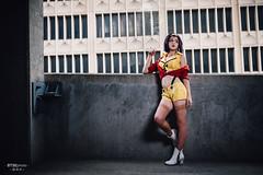 Faye Valentine ( ) (btsephoto) Tags: costume play  animefest afest anime convention dallas texas sheraton hotel fuji fujifilm xt1 yongnuo yn560 iii flash portrait faye valentine  cowboy bebop  cosplay fujinon xf 23mm f14 r lens