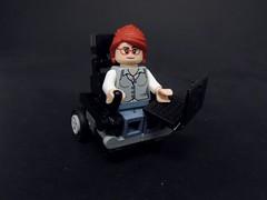 Oracle (MrKjito) Tags: lego minifig dc comics batman comic barbra gordon oracle batgirl superhero joker wheelchair laptop techy