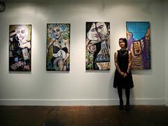 193/100 Amanda Roe (Studio d'Xavier) Tags: 100strangers amandaroe 193100 artist painter punk
