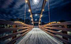 Cross the bridge to see the other side (NicolasEyes) Tags: bridge night svsu photosvsu color awesome trip nice picoftheday light americandream michigan america photo pic art usa unitedstates cute forgive divine colorful like love heart painting lightpainting explosion couleur amour voyage lumire rve amerique beau extrieur outdoor sky michiganlake yellow paisaje golden canon canoncamera 18135 100d canon100d 18mm longexposure exposure longexposition longueexposition exposition exterieur coeur photographie paysage blue toile toiles star stars ciel moon three threes arbres arbre rivers