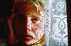 Girl behind (Martin Tomeko) Tags: nikon scotland uk sad life girl photography feeling light sun film analog analoque