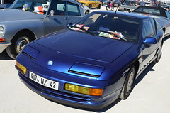 Alpine A610 (benoits15) Tags: automotive automobile anciennes avignon retro racing rallye old prestige italian italia italy supercar spain festival flickr french historic german gt motor meeting car coches classic cars collection voiture vintage nikon berlinette alpine a610