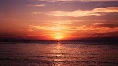 Inferno (Carmella W) Tags: sea sunset red seascape landscape