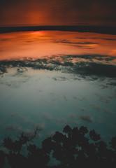 @FYABRIANSCOTT (fya_brianscott) Tags: nature beauty beautiful nikon sun sunset perspective blue orange feeling happy happiness wanderlust wander travel lake nj balance