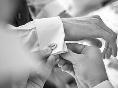 Groom's cufflink (johnnewstead1) Tags: blackwhite monochrome em1 olympus mzuiko wedding weddingphotography weddingphotographer weddingday weddingdress barnhambroom norfolk norfolkwedding norfolkweddingphotographer simonwatson simonwatsonphography johnnewstead