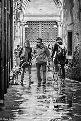 Compartint la calada   -  Sharing the road (Miquel Lleix Mora [NotPRO]) Tags: barcelona catalunya espaa es