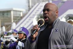 Opera Star Morris Robinson Sings with NUMB (NUbands) Tags: b1gcats chicago dmrphoto evanston illinois numb northwestern northwesternuniversity northwesternuniversitywildcatmarchingband band education marchingband music students