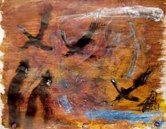 Flight Of The Mud Geese (giveawayboy) Tags: goose geese flock pencil crayon drawing sketch art acrylic paint painting fch tampa artist giveawayboy billrogers raphaelaloysiuslafferty ralafferty lafferty boomerflats doesanyoneelsehavesomethingfurthertoadd absm mudgeese boomer crayolacatfish comet cimarronriver cimarronhotel xenodocheion xenoi wmotf giant giants uncles catfish commoner flood oceanic cryptid human people legend lore myth folkways folk folkculture folklore water river