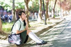 DSC_0973 (Robin Huang 35) Tags: 孫卉彤 candy 師大校園 師範大學 松山高中制服 松高制服 松山高中 松高 制服 student girl d810 nikon