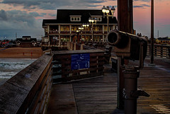 One early morning at Jennette's Pier (jed52400) Tags: jennettespier outerbanks obx northcarolina nc shore pier hdr