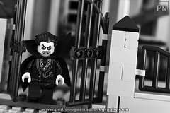 Leave While You Can - Happy Halloween 2016 (Pedro Nogueira Photography) Tags: bricks brinquedos horror humor lego miniaturas miniature monsterfighters toys vampires photography pedronogueira pedronogueiraphotography monochrome blackandwhite