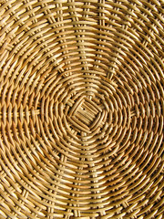 Rattan pouf (EvelyneRenske) Tags: wood wooden pouf interior rattan