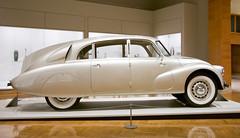 Minneapolis Insitute of Art (faasdant) Tags: minneapolis institute art mia museum gallery minnesota mn 1948 tatra t87 sedan hans ledwinka silver aircooled rearengine v8 czechoslovakia aerodynamic streamlined