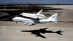 ( 2008 ) Piggy Back Ride (Prayitno / Thank you for (11 millions +) views) Tags: konomark nasa usa us space shuttle endeavour endeavor boeing 747 boeing747 special piggy back ride landing final approach touch down wow unbelievable aerospace engineer engineering