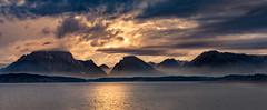 a pillow for moran (Christian Collins) Tags: tetons mountains sunset teton lake jackson dam moran canon efs24mm t2i beach wyoming tetonas rockies range clouds hazy