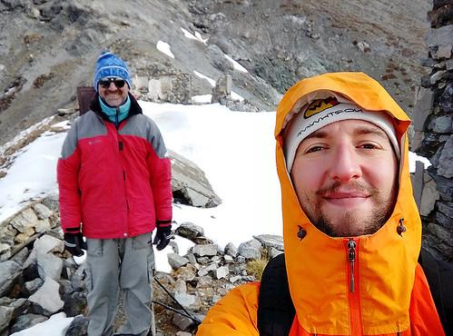 Sul Colle Chaberton, 2671 m., foto di Fabrizio M., 26 ottobre 2016