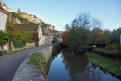 2016-10-24 10-30 Burgund 559 Semur-en-Auxois (Allie_Caulfield) Tags: foto photo image picture bild flickr high resolution hires jpg jpeg geotagged geo stockphoto cc sony alpha 77 france frankreich burgund bourgogne ctedor historic city altstadt semur en auxois semour stiftskirche notredame