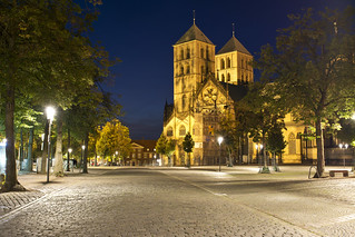 blue hour shot - St.-Paulus-Dom in Münster