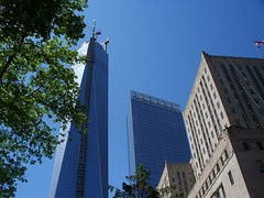 New York City - area around the Freedom Tower (nearing completion) (Guenther Lutz) Tags: impact
