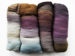 Spincyle Batts (chavala) Tags: knitting spinning fiber batts