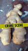 Ginger didn't stand a chance (swansbill) Tags: ginger humour crime whodunnit marble food spice nude root