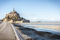 Mont Saint Michel (KernnK) Tags: seascape mont saintmichel chruch france lower normandy normandie calvados sea sky beach water clouds blue architecture manche