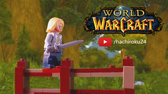 World of Warcraft with Lego in 60 seconds (hachiroku24) Tags: lego youtube video world warcraft animation toy afo