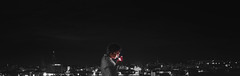 light it up (Isabelle Bommes) Tags: siracusa panorama blackandwhite light city italy syracuse night low cigarette smoke lighter smoking