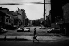 ((Jt)) Tags: leica summer blackandwhite girl asia flash streetphotography korea korean seoul dlux chungmuro streettogs jtinseoul