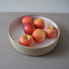 White Stoneware Fruit Bowl (Jude Allman) Tags: white ceramic ceramics crafts craft bowl pot pots jude clay pottery bowls stoneware allman