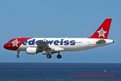 A320 HB-IHY EDELWEISS (shanairpic) Tags: lanzarote edelweiss a320 airbusa320 jetairliner hbihy