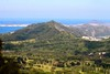 Nuuanu Pali (photawwgraphy) Tags: ocean travel blue trees vacation plants mountains green tourism nature water landscape hawaii oahu scenic cities roadtrip hills pacificocean valley palilookout nuuanupali windwardcoast