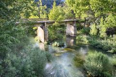 Puente de San Pedro (j.borras) Tags: park bridge water pool river de puente san natural guadalajara pedro alto tajo xe1