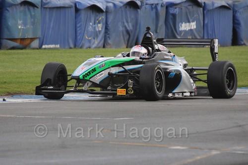 Sean Walkinshaw Racing's Zubair Hoque in BRDC F4 at Donington Park, September 2015