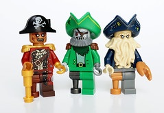 Zombie pirates (Vanjey_Lego) Tags: monster lego zombie pirates pirate monsters minifig minifigs minifigure potc davyjones minifigures