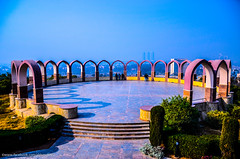Arches of Monument of Pakistan (Abbas Clicks) Tags: pakistan tourism museum arches viewpoint islamabad nationalarchive rawalpindi shakarparian pakistanmonument travelingphotography capitalofpakistan pcatp arifmasood